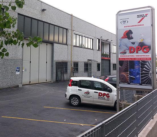 Autocarrozzeria DPG a Schio Vicenza Italy
