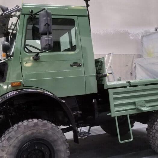 Restauro carrozzerie Camion Schio