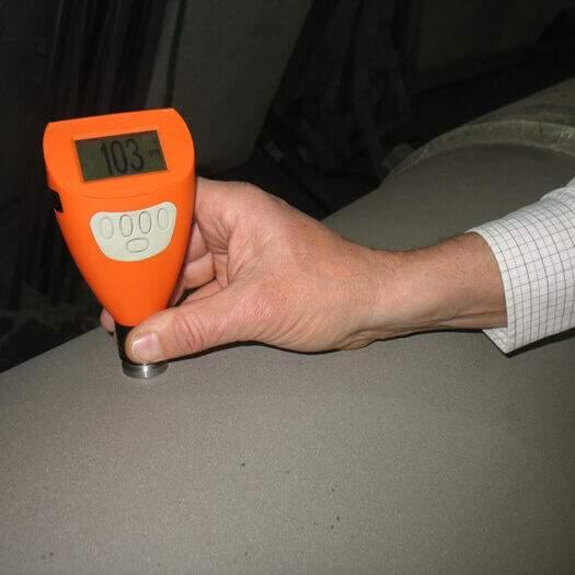 misurazione vernice dpg autocarrozzeria Schio